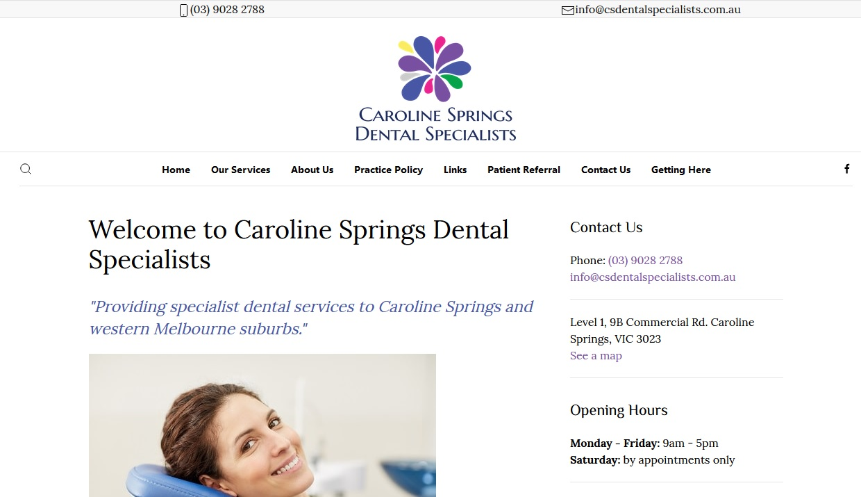 Caroline Springs Dental Specialists