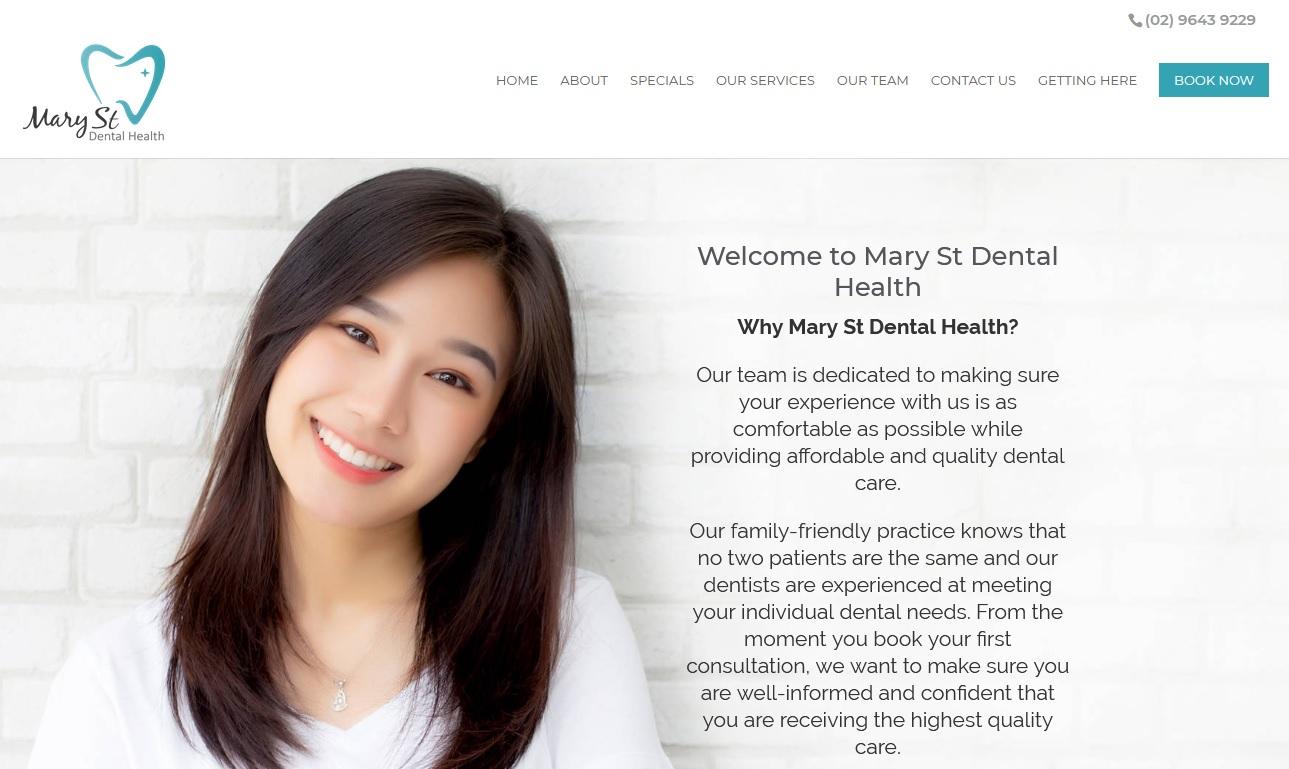Mary St Dental Health